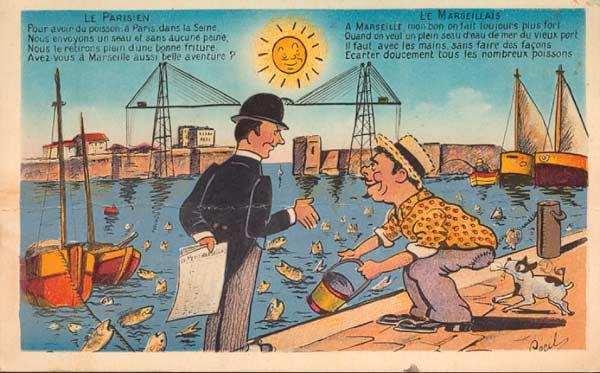 Dessins Du Pont 224 Transbordeur Du Vieux Port De Marseille